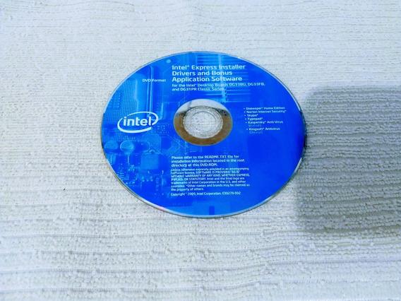 Dvd - Intelª Express Installer Driver E Bonus/appl- Software