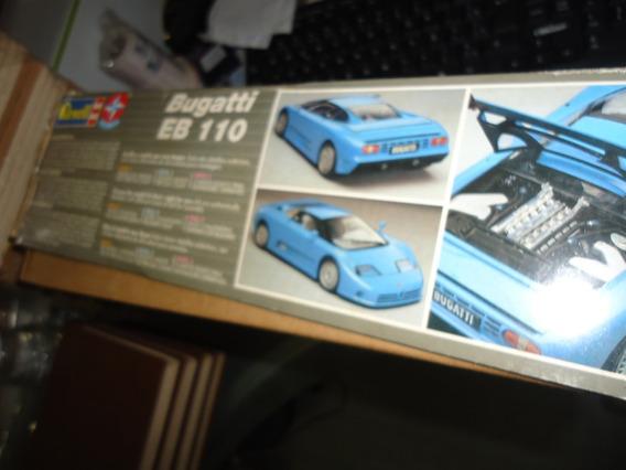 Bugatti Eb 110 Revell Estrela Escala 1:24 Quase Lacrado C/cx
