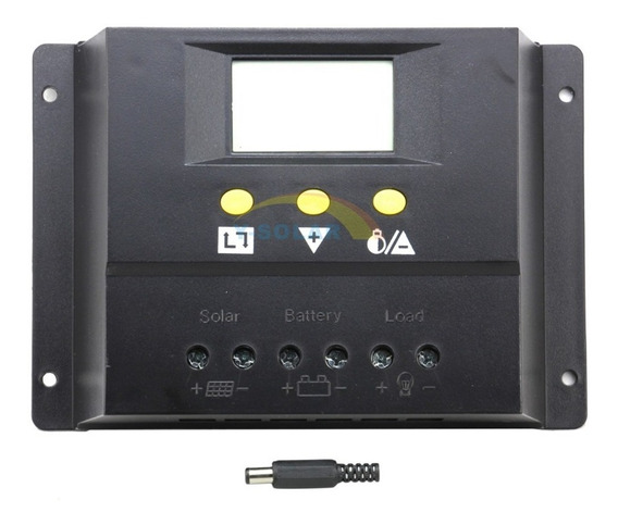 Controlador De Carga Digital 60a Para Painel Solar
