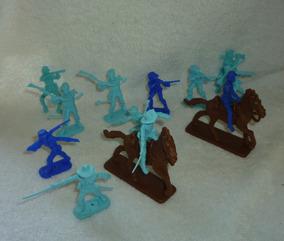 Gulliver Forte Apache Soldados Confederados + Cavalos