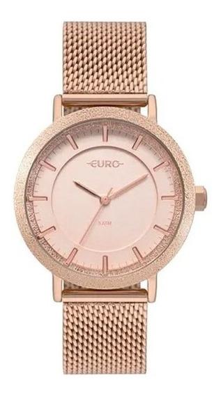 Relógio Euro Feminino Construções Rosê Eu2039jn/4j
