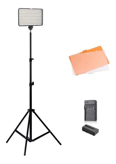 Kit Iluminador Led 160 Ideal P/ Vídeo Youtuber Newborn Make