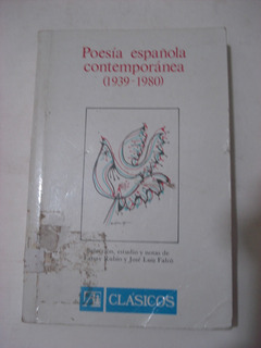 Poesia Española Contemporánea