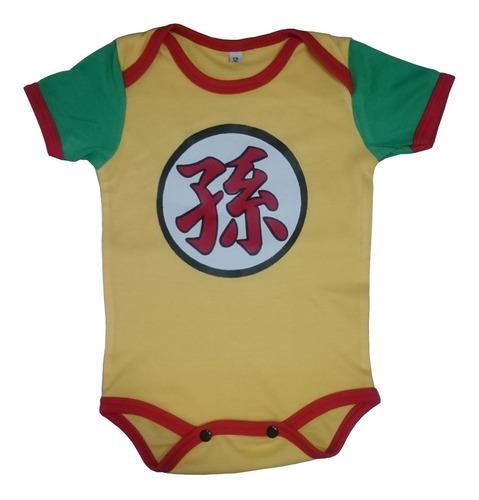 Body Mameluco Niños Bebé Gohan Dragon Ball Z Nighty-night