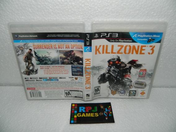 Kill Zone 3 Original Midia Fisica Completa P/ Ps3 - Loja Rj