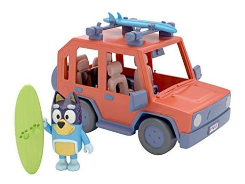 Vehículo Familiar, 4 Figuras Y 1 Vehículo