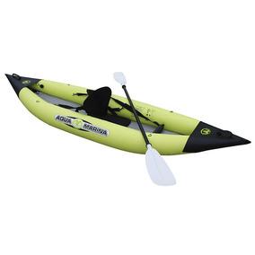 Caiaque Inflável Aqua Marina K1 Com 2 Remos E Inflador