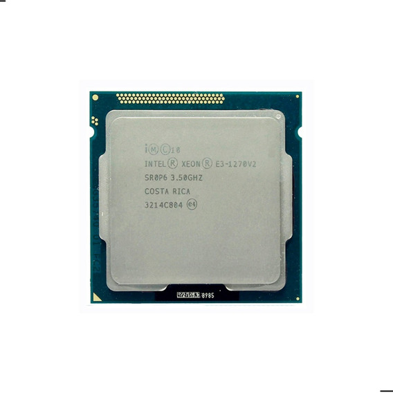 Procesador Intel Xeon E3 1270 V2 4 Núcleos Lga 1155 Server
