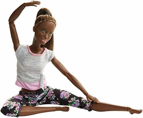 Barbie Hecha Para Mover Muñeca, Pelo Oscuro.