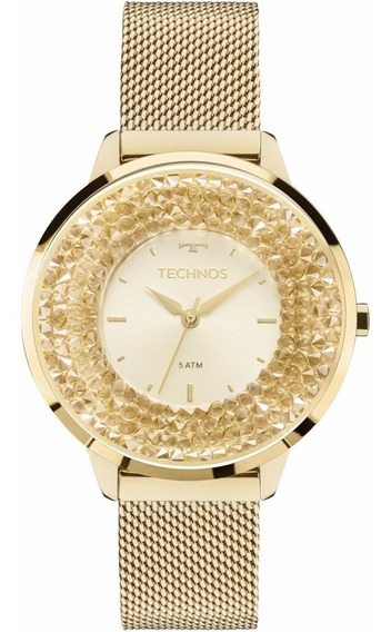 Relógio Technos Feminino Crystal Elegance 2035mLG/4x Analogo