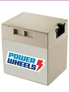 Batería De Repuesto Recargable 12 Volts 9.5 Amp. Power Wheel