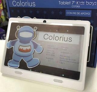 Tablet 7 Pie De Apoyo 1gb 8gb Niños Android Bluetooth Diseño