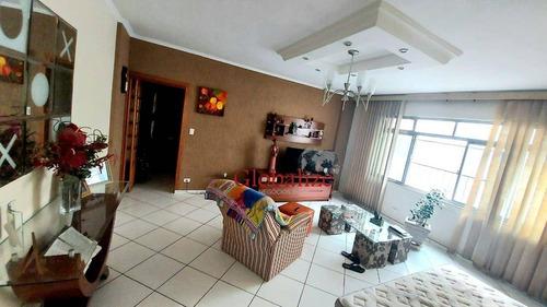 Imagem 1 de 28 de Apartamento À Venda, 161 M² Por R$ 640.000,00 - Boqueirão - Santos/sp - Ap0696