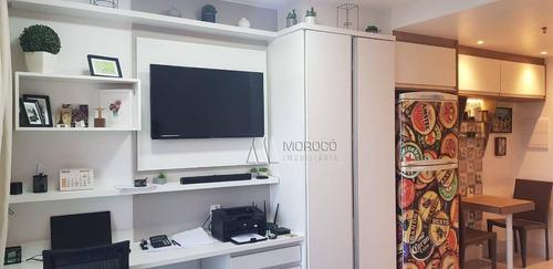 Flat Com 1 Dormitório À Venda, 28 M² Por R$ 180.000,00 - Imbetiba - Macaé/rj - Fl0009