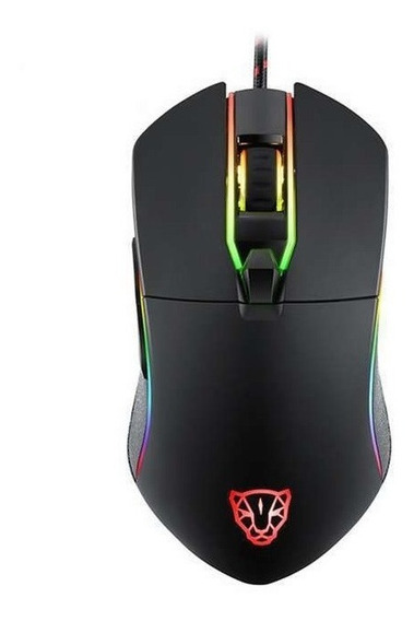 Mouse Motospeed V30 Rgb Gamer Pronta Entrega Nf + Garantia