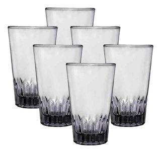 Caja De 36 Vasos De Vidrio Triana 10 Oz