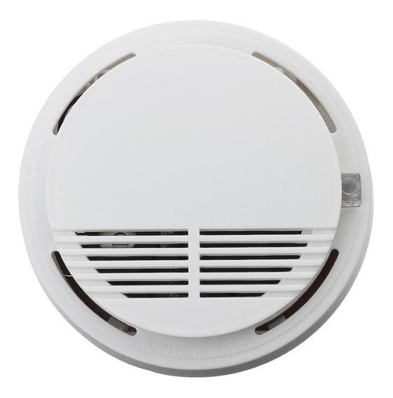 Alarma, Detector Autónomo De Humo Certificado + Bateria As