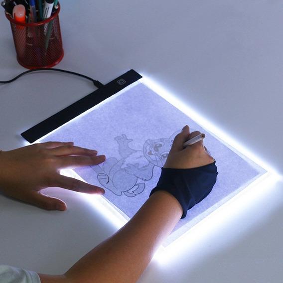 Mesa A4 Led 3 Intensidade Luz Desenho Transposição Profis