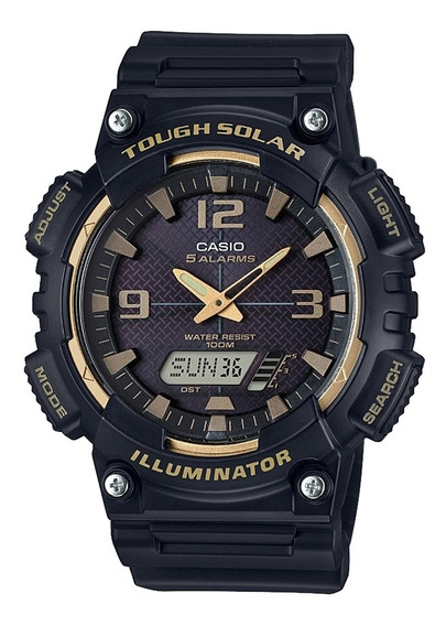 Relógio Masculino Casio Esportivo Aq-s810w-1a3vdf - Preto