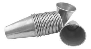Vaso Helado En Aluminio De Alta Calidad. Set X 24 Unidades