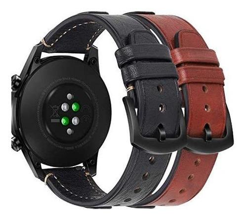 Imagen 1 de 8 de Compatible Con Huawei Muñeca Reloj Gt2 46mm 22mm Banda De C