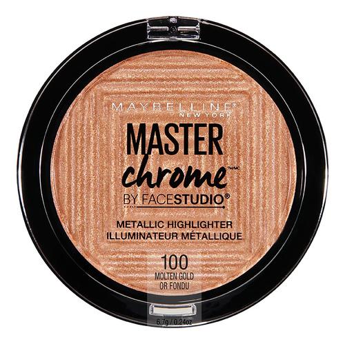 Iluminador Maybelline Facestudio Master Chrome Gold X 6.7g