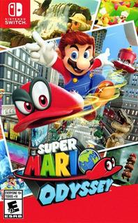 Super Mario Odyssey Nintendo Switch Nuevo Sellado Anímate!!!