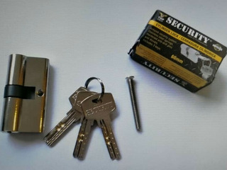Cilindro De Seguridad Security, 6cm, 3 Llaves
