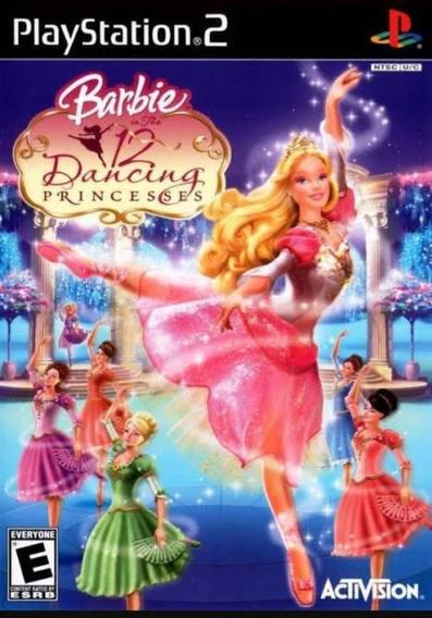 Jogo Ps2 Barbie Dancing Princesa