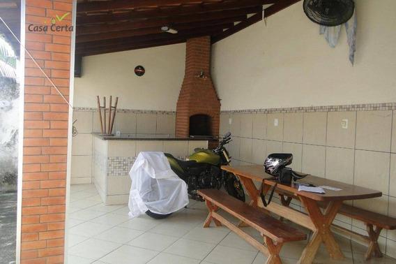 Casa Com 2 Dormitórios À Venda, 134 M² Por R$ 250.000 - Parque Dos Eucaliptos - Mogi Guaçu/sp - Ca1450