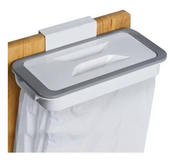 Lixeira Acoplável Com Tampa P/ Portas E Gavetas Suporte Lixo