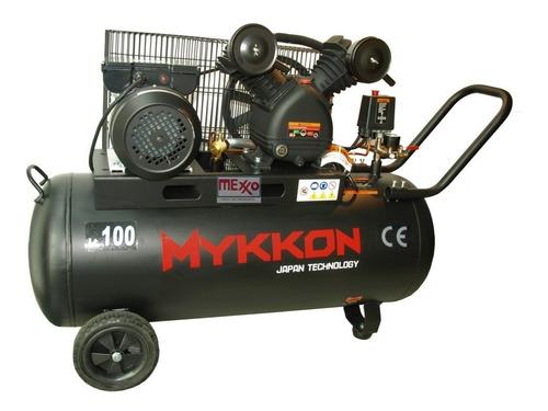 Compresor De Aire 100 Litros 3hp Mykkon Japón