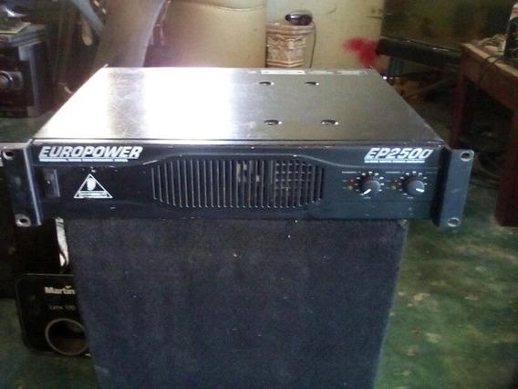 Amplificador Berhinger Ep 2500 ! Barato .