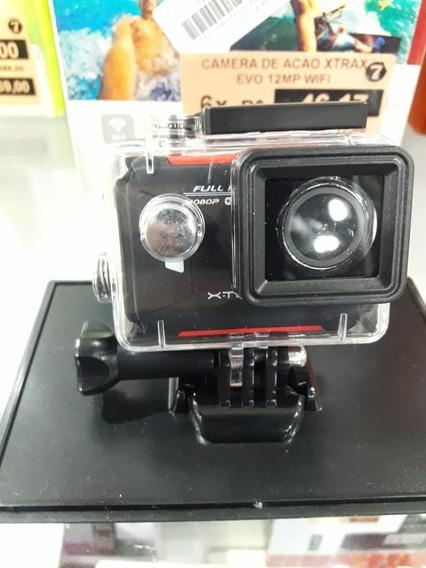 Xtrax Câmera De Ação Evo Vermelha + Nf ( Original )