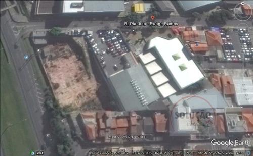 Terreno A Venda No Bairro Rudge Ramos Em São Bernardo Do - 445-1