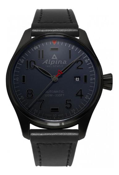 Relógio Masculino Alpina Al-525nn4fbs6 Couro