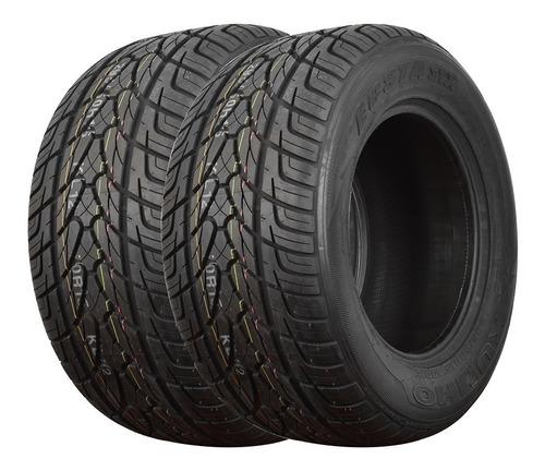 Kit 2 Neumáticos  255 60 R15 Kumh Camioneta Kl12 Ford F100