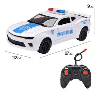 Auto De Policia A Radio Control Envio Full (22009)