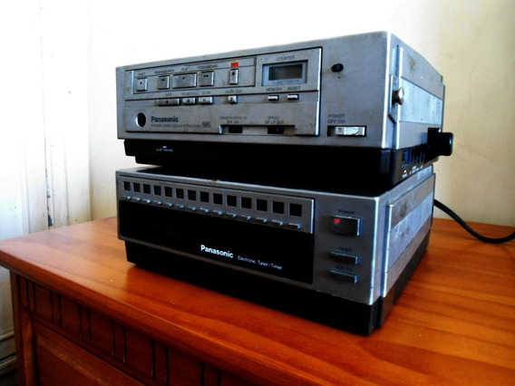Video Cassete Panasonic Pv 5000 Com Tuner - Antigo Anos 80!