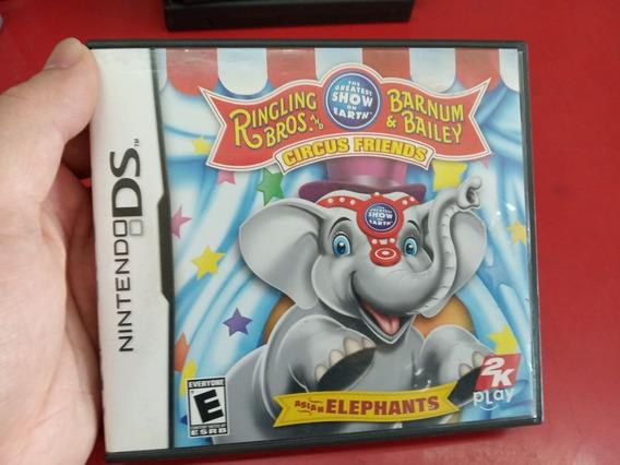 Jogo Circus Friends- Nintendo Ds