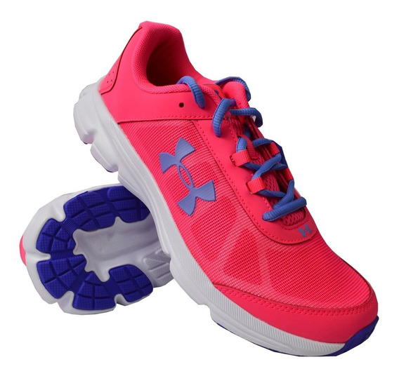 Tenis Under Armour Mujer Rosa Ggs Rave 2 3000148601