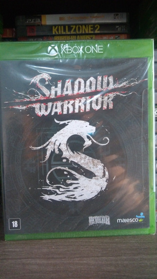 Shadow Warrior Mídia Física Lacrado Xbox One