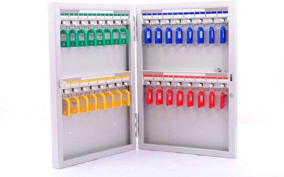 Caja Magnética Organizador Para Llaves 32 Llaveros