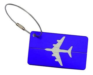 Etiqueta - Mala - Viagem, Tag - Identificação 4 Unidades.