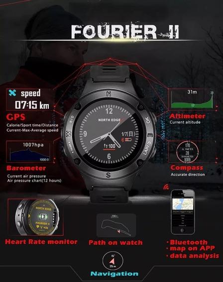 North Edge Fourier2 Original, M Cardíaco **promoção R$500**