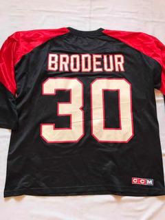 Jersey Nhl Brodeur New Jersey Devils Xl #354