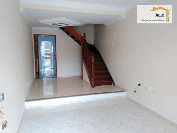 Sobrado Com 2 Dormitórios Para Alugar, 84 M² Por R$ 1.800,00/mês - Vila Prudente - São Paulo/sp - So0766