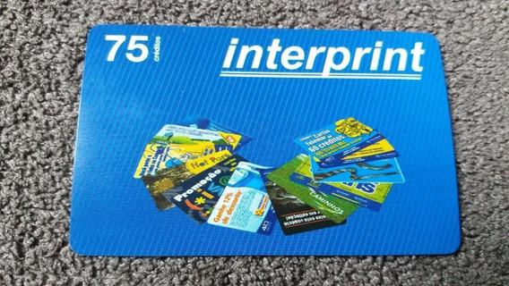 Cartão Telefônico - Cartão De Teste - Interprint - Cheio