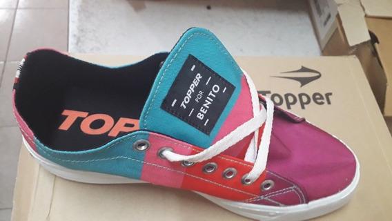 Zapatillas Topper Colección Benito