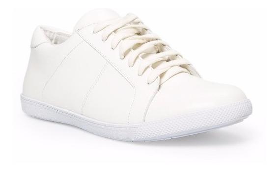 Zapatos Caballeros Mango White Sneakers - Talla 44